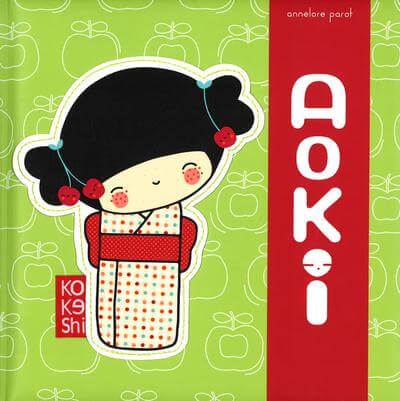 Kokeshi - Aoki (Annelore Parot) by Malaysia Toys