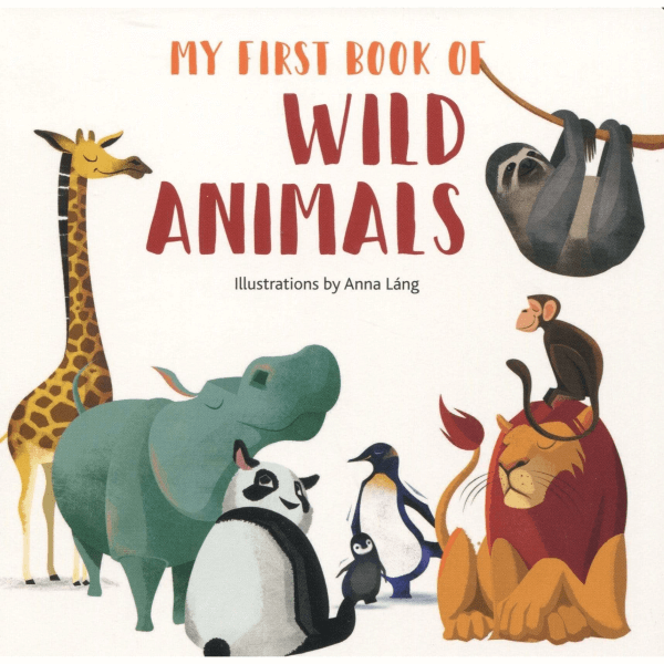 My First Book of Wild Animals (Anna Lang) by Malaysia Toys