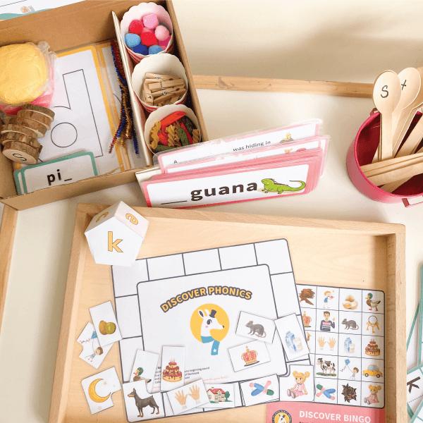 Phonics Activity Box Kit by Malaysia Toys