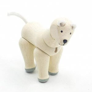 Plan Toys Arctic Fox by Malaysia Toys