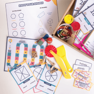 Sum and Fractions Maths Kit by Malaysia Toys