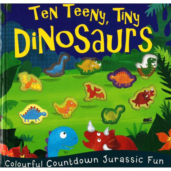 Ten Teeny Tiny Dinosaurs (Caterpillar Books) by Malaysia Toys