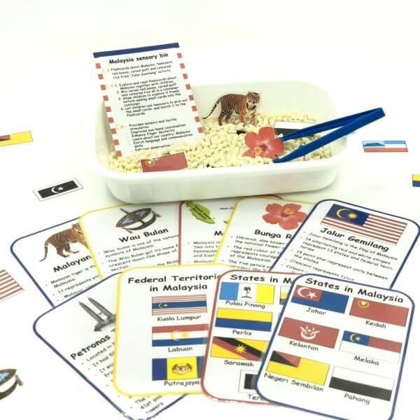 Malaysia Busy Box Activity Kit by Malaysia Toys