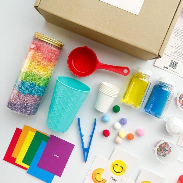 Rainbow Treats Messy Play Kit by Malaysia Toys