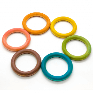 Wooden Rings by Malaysia Toys