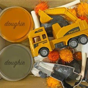 Construction Mini Playdough Kit by Malaysia Toys