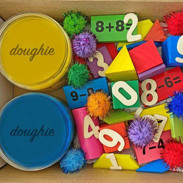 Counting Mini Playdough Kit by Malaysia Toys