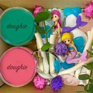 Mermaid Mini Playdough Kit by Malaysia Toys