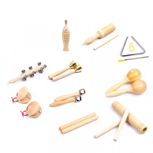 Music Instruments (Set of 10) by Malaysia Toys