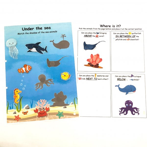 Ocean Busy Book by Malaysia Toys
