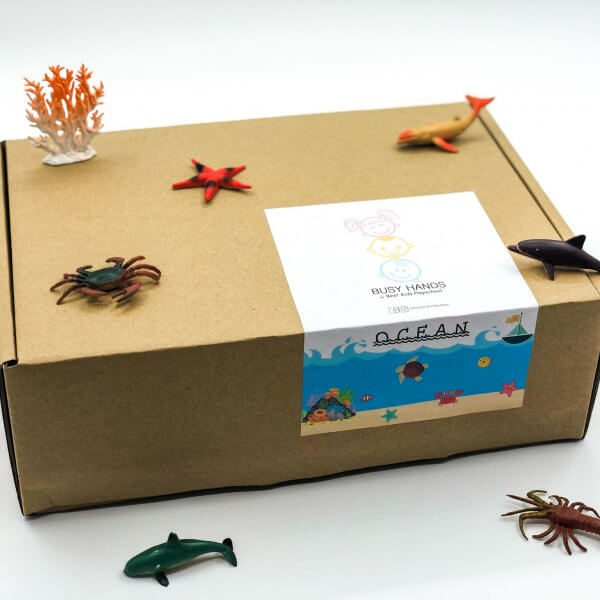 Ocean Busy Box by Malaysia Toys