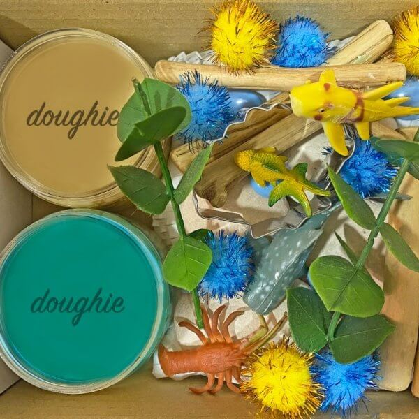 Seaside Mini Playdough Kit by Malaysia Toys