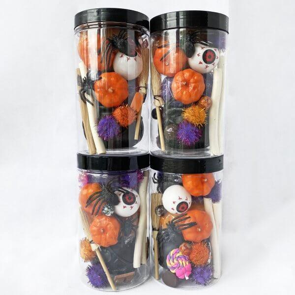 Trick or Treat Playdough Jars by Malaysia Toys